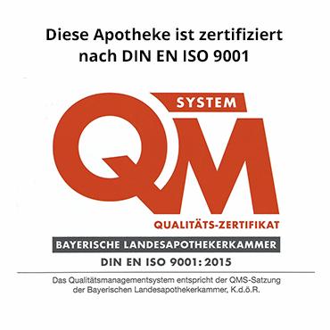 Bären Apotheke Grafing Qualitäts-Zertifikat